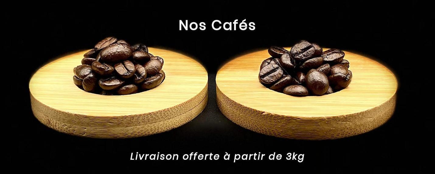Cafés en grain Crema et Intenso